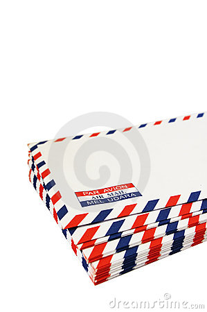 Free Air Mail Stock Images - 16202774