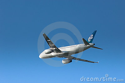 Air New Zealand A320 Editorial Stock Photo