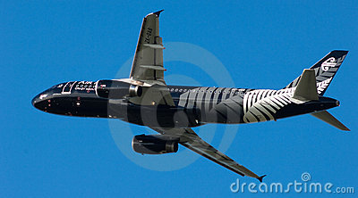 Air New Zealand A320  Editorial Stock Image