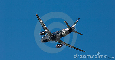 Air New Zealand A320 Crazy About Rugby Editorial Photography