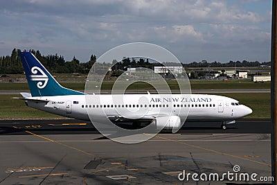Air New Zealand B737 Editorial Image