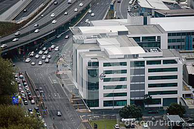 Air New Zealand headquarters in Auckland New Zealand NZ Editorial Stock Image