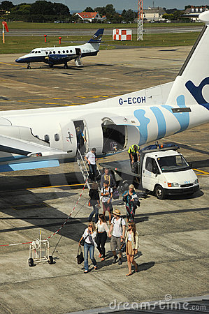 Air passengers Editorial Stock Photo