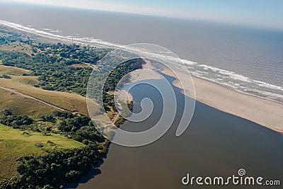 River Beach Ocean Lagoon Air