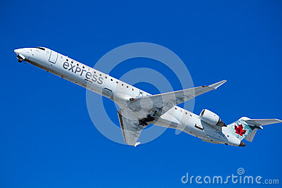 Air plane take off Editorial Stock Image