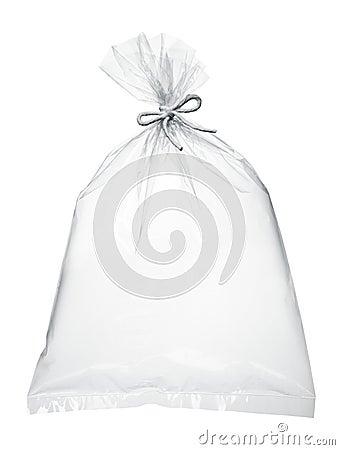 Air in plastic bag