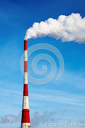Free Air Polluting Smokestack Stock Images - 10287794