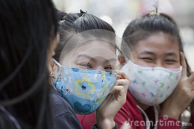 AIR POLLUTION Editorial Stock Photo