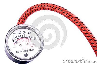 Air Pressure Gauge or Manometer