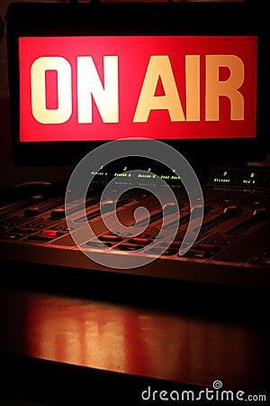 On Air Radio Studio Vertical