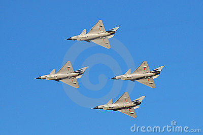 Air show Editorial Stock Image