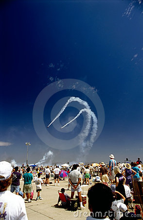 Air show Editorial Photography