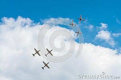 Air Show 2013, Radom 30 August 2013 Editorial Image