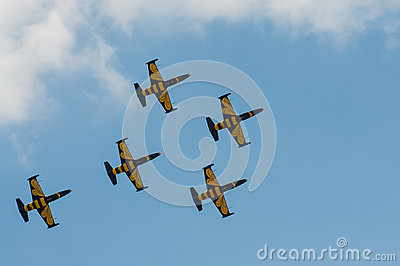 Air Show 2013, Radom 30 August 2013 Editorial Stock Image