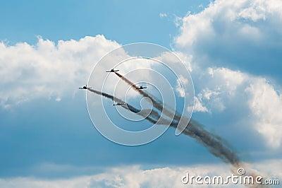 Air Show 2013, Radom 30 August 2013 Editorial Photo