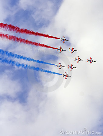 Air show team