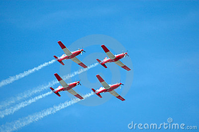 Air Show Team Royalty Free Stock Photos - Image: 5371768