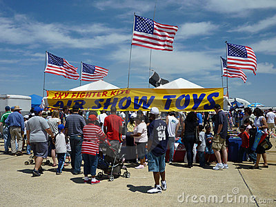 Air Show Toys Editorial Photo