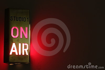 On Air Studio Sign