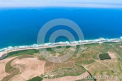 Air Sugar Cane Ocean Beach