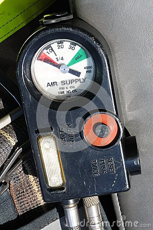 Air supply gauge