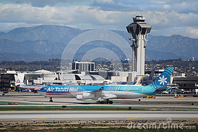 Air Tahiti Nui Airbus A340-313X Editorial Stock Image