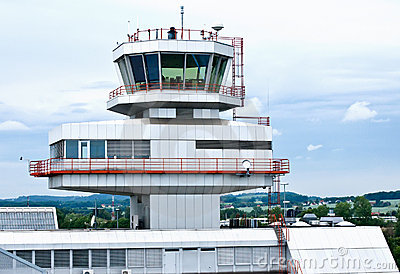 Air Traffic Control Tower Stock Image - Image: 13182651