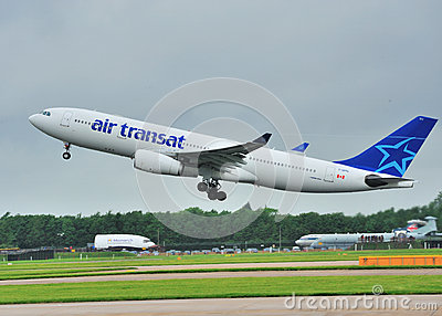 Air Transat airbus A330 Editorial Photography