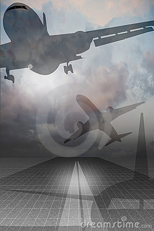 Free Air Travel Royalty Free Stock Image - 3910466