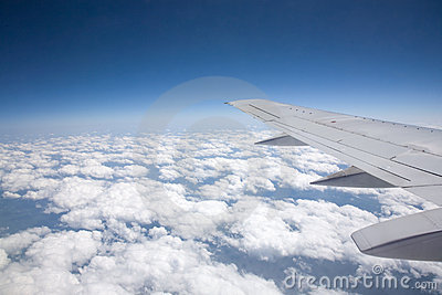 Air Travel from above