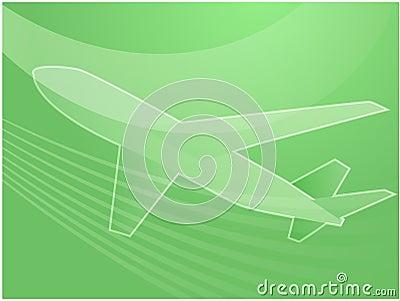 Air travel airplane