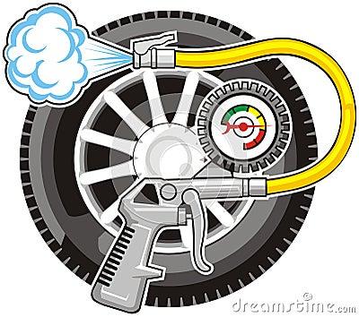 Air for wheel
