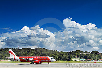 AirAsia Airbus A320-200 Editorial Stock Image