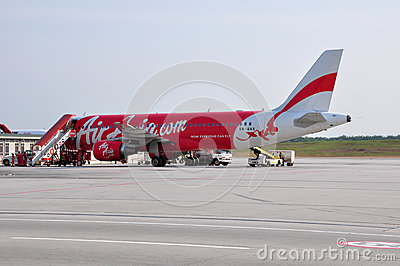 AirAsia Airbus A320 Editorial Photography