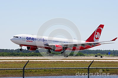 Airberlin Airbus A320 Editorial Stock Image