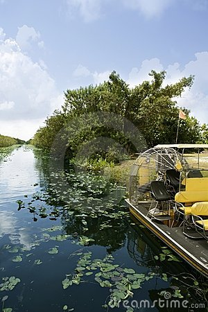 Free Airboat In Everglades Florida Big Cypress Stock Photo - 13509320