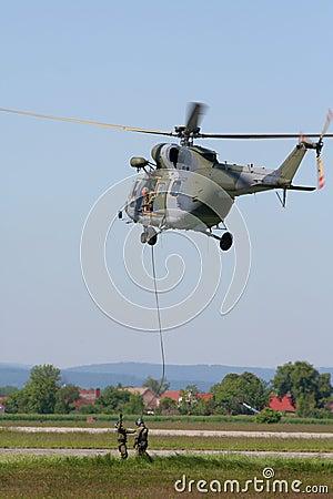 Airborne soldiers