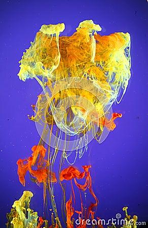 Airbrush inks in water