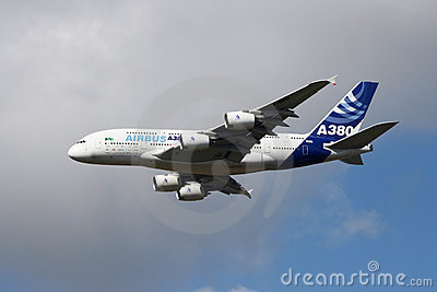 Airbus 380 Editorial Image