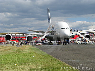 Airbus a 380 Editorial Stock Photo