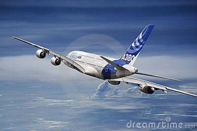 Airbus 380 Editorial Photography