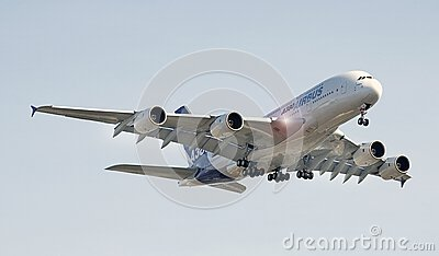 Airbus A-380 Editorial Photography