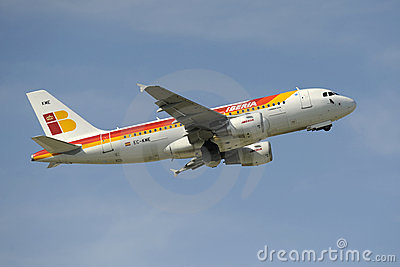 Airbus A319 Royalty Free Stock Images - Image: 13303019