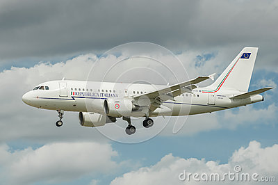 Airbus A319 Editorial Image