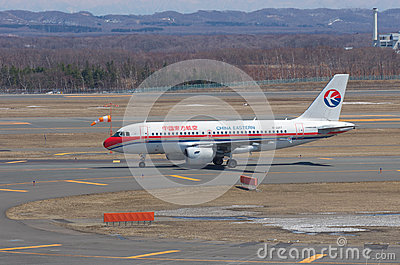Airbus A319 of China Eastern Editorial Image
