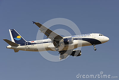 Airbus A320-212 Editorial Photography
