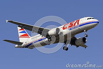 Airbus A320-214 Editorial Photo