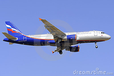 Airbus A320-214 Editorial Image