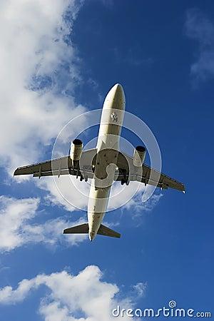 Airbus A320-214 airplane