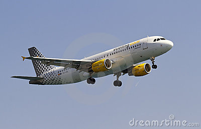 Airbus A320 Editorial Stock Image